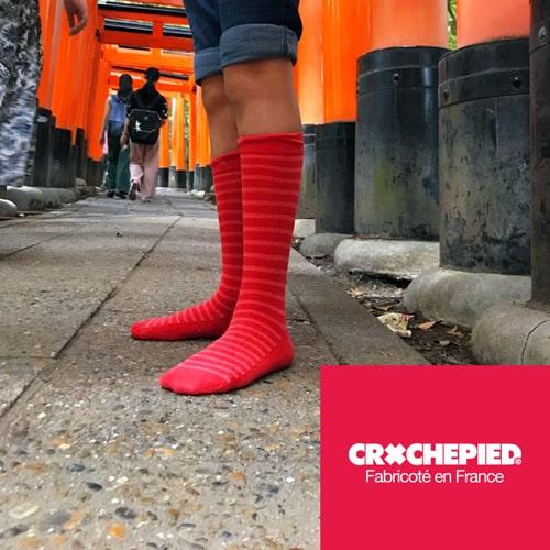 Crochepied - Marque de chaussettes fabriquées en France